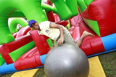 Competitive Inflatable Team Challenge